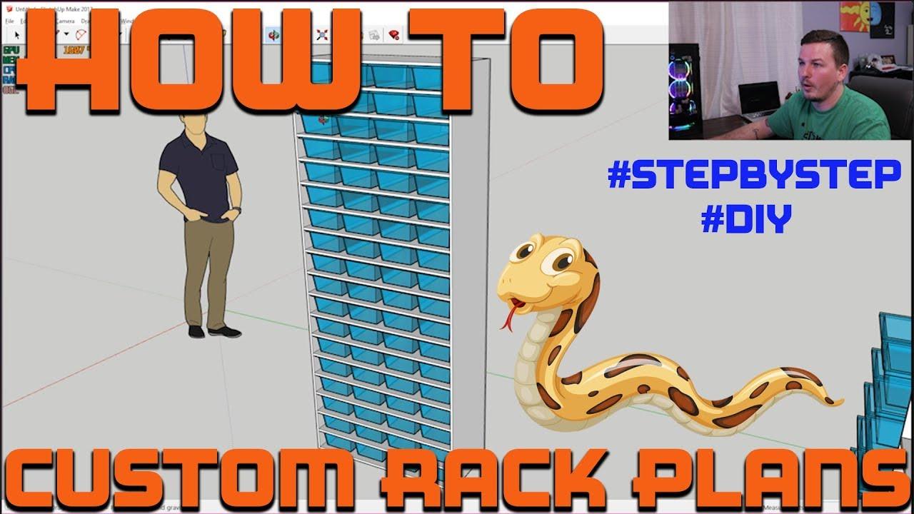HOW I DESIGN RACKS!! | Step By Step Tutorial | Mixology #34