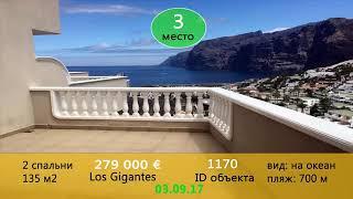 Видеообзоры новых объектов недвижимости на Тенерифе