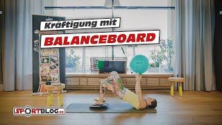 15 Min Ganzkörper-Kräftigung mit Balanceboard inkl. Aufwärmen