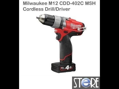 MILWAUKEE M12 CDD