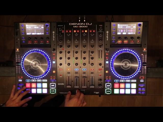 DJ Undoo Routine on Denon DJ MCX8000