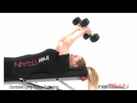 inerTRAIN triVANTAGE Video - Dumbbell Lying Triceps Extension