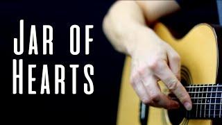 Jar of Hearts - Christina Perri | Solo Fingerstyle Guitar Version