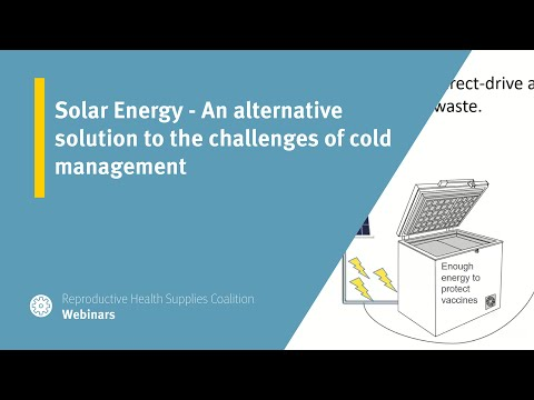 Solar Energy - An alternative solution to the challenges of cold management
