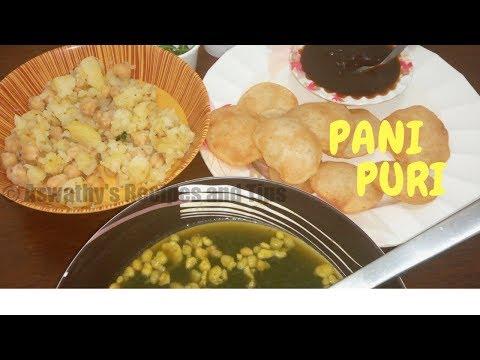 Perfect Pani Puri   Golgappa recipe   പാനി പൂരി എളുപ്പത്തിൽ വീട്ടിൽ ഉണ്ടാക്കാം