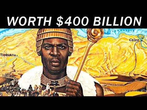 A Black Man is the richest person in World History