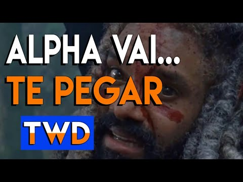 Alpha VAI MATAR o Rei Ezekiel || The Walking Dead 9° temporada
