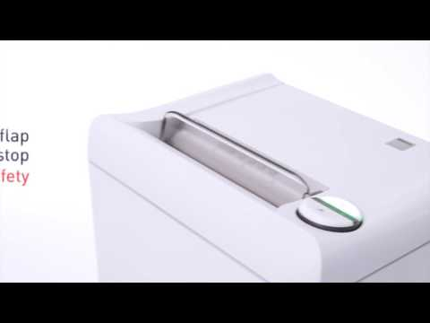 Video of the IDEAL 2404 Shredder