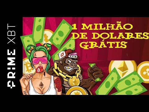🔴GIVEAWAY DE 1 MILHÃO DE DÓLARES🔴 Ganhe dinheiro de GRAÇA com a Exchange PrimeXBT!