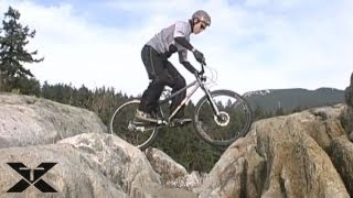 Mountain Bike Trials - Rocking