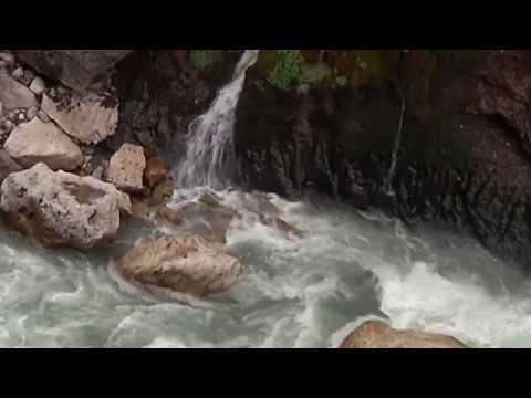 Чегемские водопады осенью, достопримечательности Кабардино Балкарии