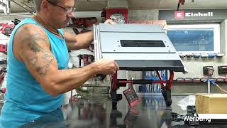 Unboxing und erster Test Einhell Akku Tischkreissäge TE-TS 36/210 Li Teil 1 #einhell #einhellharry