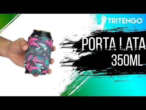Porta Lata 350ml em Neoprene Personalizado para Brinde Corporativo