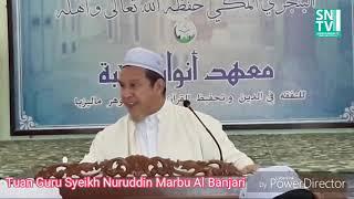 ISU PENGHINAAN TERHADAP RASULULLAH ﷺᴴᴰ - TG Syeikh Nuruddin Marbu Al-Banjari Al-Makki