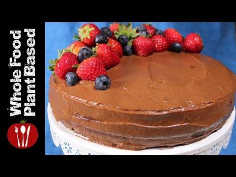 Vegan Chocolate Cake/gluten free refined sugar free: Whole Food Plant Based Recipes
