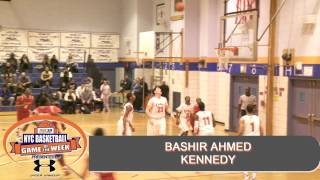 Top Player in NYC 6'5 Bashir Ahmed Class of 2014