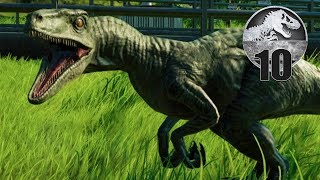 Jurassic World Evolution - Part 10 - How to PISS OFF a Raptor 😂