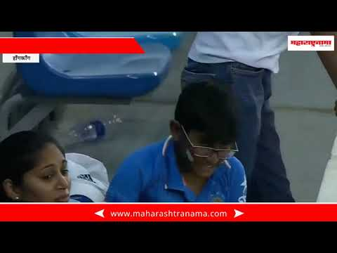 Hong Kong – Dhoni got out on zero and small fan given angry expressions