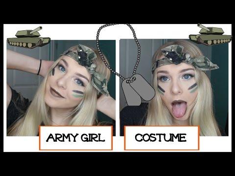 Army Girl Costume | HALLOWEEK DAY 3 - Lovey James