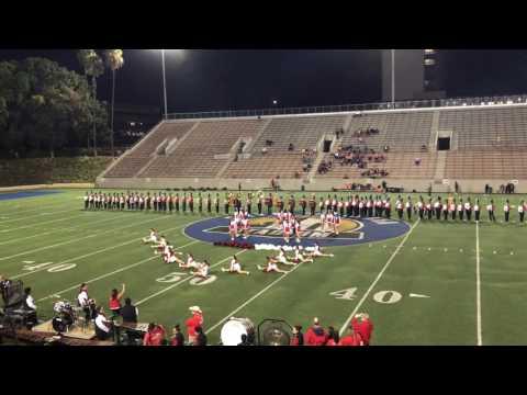 Santa Ana high school cheer & song homecoming 2016