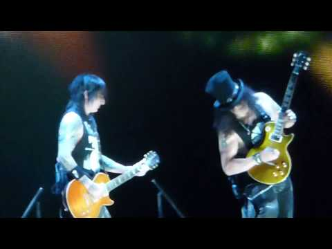 Guns N Roses Wish you were here Layla November rain live in