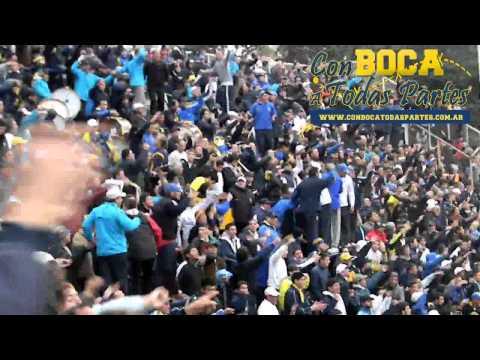 """""""Hinchada hay una sola - Nunca hicimos amistades / Gimnasia vs Boca Jrs - Clausura 2011"""" Barra: La 12 • Club: Boca Juniors • País: Argentina"""