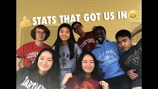 STATS THAT GOT US INTO IVIES USC STANFORD UW