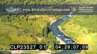 preview picture of video 'Alaska Six Mile Creek - Canyon Creek Bridge'