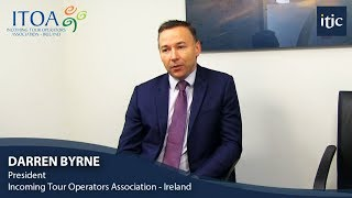 Darren Byrne, Finance Director of the Abbey Group appointed President of the Incoming Tour Operators