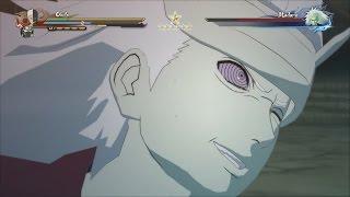 Obito & Kakashi vs Madara Boss Battle (English Dub) - Naruto Shippuden Ultimate Ninja Storm 4