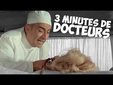 3 minutes de docteurs avec Louis de Funès !