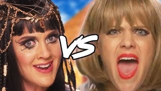 TAYLOR SWIFT vs KATY PERRY Music Video Parody (Diss Track)