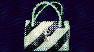 পুতির ব্যাগ/ how to make beaded bag (part -1)/new design beaded bag/ putir bag/ Beaded Hand Bag