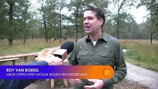 Natuurbegraafplaats bij Huis ter Heide officieel geopend