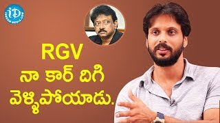 RGV Suddenly Got Down From My Car - Aadarsh Balakrishna || Dil Se With Anjali