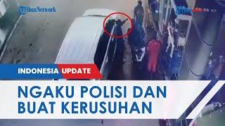 Viral Video Pria Ngaku Polisi Ancam Tembak Warga di SPBU, Polda Banten Pastikan Pelaku Ngaku-ngaku