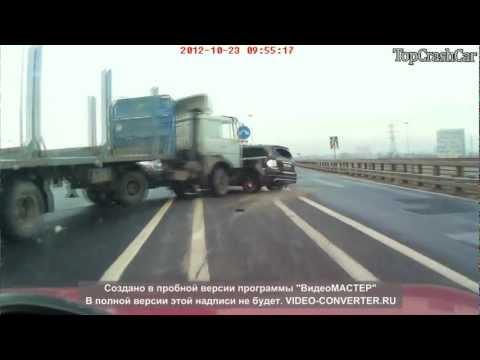 Подборка аварий с грузовиками 2013 / видео