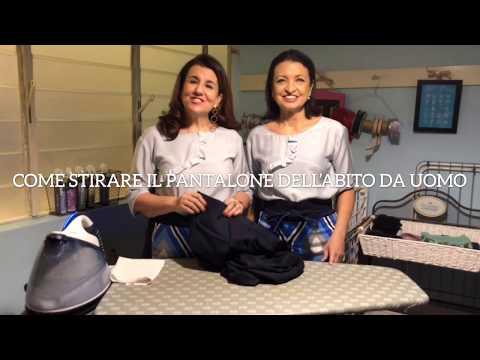 Come stirare i pantaloni dell'abito da uomo