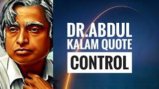 Motivational Quotes of Dr. APJ Abdul Kalam | Control | WhatsApp Status | Vertical Video