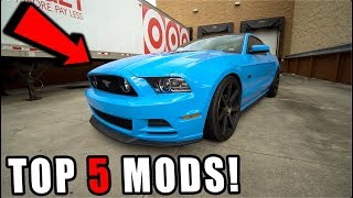 First 5 Modifications You MUST DO On a 2011-2014 Mustang!