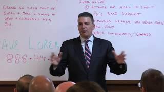Dave Lorenzo BNI Leadership Training