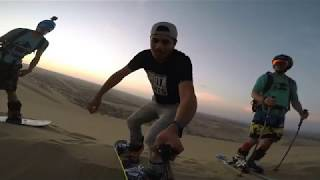 Riding in Peru | Sandboarding | Sandskiing