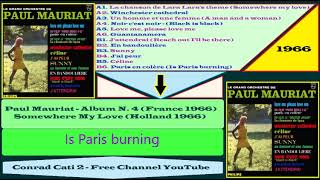 Paul Mauriat - B6 - Paris en colère (Is Paris burning) {Album n  4 '66}