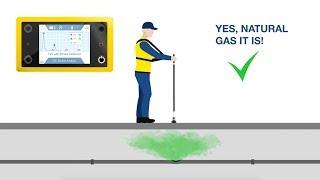 IRwin gaslekzoeker met gasanalyse