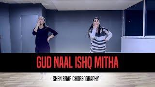 Gud Naal Ishq Mitha L Easy Wedding Steps L Shen Brar Choreography