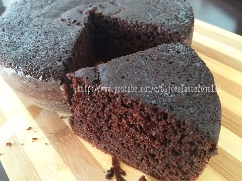 Video Chocolate Cake without Oven | Stove top Chocolate Cake | Chocolate Cake