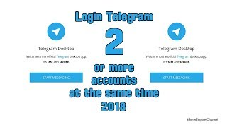 How to login telegram 2 or more accounts at the same time in Windows