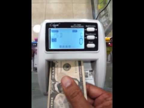 Multi Currency Money Detector and counter CY-420 bill faster than Accubanker D500 cash