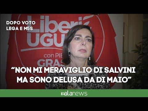 M5S-Lega, Boldrini: