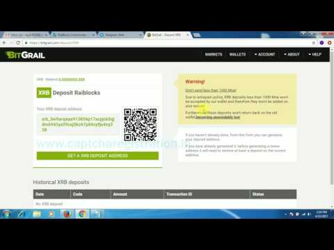 Video HOW TO EXCHANGE XRB TO BTC IN BITGRAIL || XRB TO BTC EXCHANGE